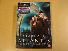 5-DISC DVD BOX / STARGATE ATLANTIS - SEIZOEN 1 / SAISON 1