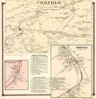 Norfolk New York - Stone 1865 - 23.00 x 23.71