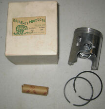 YAMAHA 338 .020 O.S. PISTON WITH RINGS NEW OLD STOCK ITEM IN BOX GRISSLEY BRAND