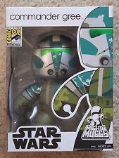 SDCC 2008 Star Wars Mighty Muggs Commander Gree Vinyl Figure