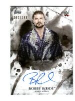 WWE Bobby Roode 2018 Topps Undisputed On Card Autograph SN 82 of 199