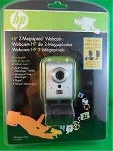 Hewlett-Packard HP 2-Megapixel Webcam (#RZ406AA#ABA)  - NEW/BNIP