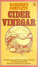 Complete Cider Vinegar (Nature's way) by Hanssen, Maurice