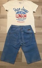 Coole Sommer Kombi  Pepe Jeans   S.Oliver T-Shirt   Shorts Gr 5735daa3ad