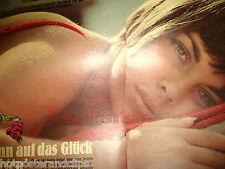 Alter Mireille Mathieu Bericht  wow rare clip Kein poster drei sexy Seiten 1969