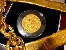 ROYAL RUPEES MEXICO 1715 FLEET 8 ESCUDOS GOLD PLT DOUBLOON TREASURE COIN