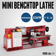 "7"" x 12""  In Precision Mini Benchtop Lathe ETL DIY Tool MIni HIGH GRADE GREAT"