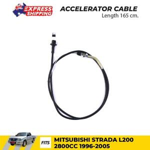 Accelerator Cable Fits Mitsubishi L200 Strada Triton 2.8 MK Pickup 1996 - 2005