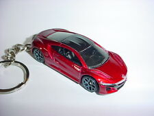NEW 3D RED 2017 HONDA NSX CUSTOM KEYCHAIN keyring key racing finish HOT ACURA!!!