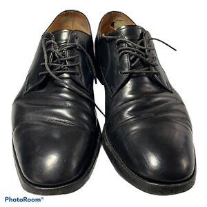 Men's Loake 205B Black leather shoes UK Size 9 Formal Oxford