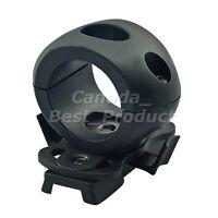 Tactical Airsoft Single 3//4/'/' Flashlight Clamp fit Fast Helmet Side Rail DE Tan