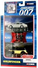 CORGI James Bond 007 Aston Martin DB5 & Rolls Royce Set Goldfinger diecast