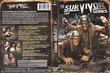 Official WWE Survivor Series 2009 Limited Edition DVD (Steel Book)