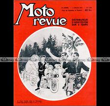 MOTO REVUE N°1348 IFA-MZ TOURIST TROPHY COLLOT NEUSSNER PEUGEOT 125 55TCL 1957