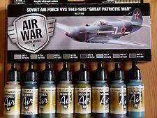 AV Vallejo Sovietico Aeronautica VVS 1943-1945 Colori Acrilico Disegno Set