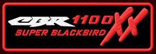 "HONDA CBR 1100 XX EMBROIDERED PATCH ~5-1/4"" x 1-3/4"" SUPER BLACKBIRD MOTORCYCLE"