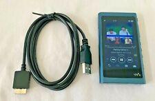 Sony NW-A55 A Series Walkman Hi-Res 16GB MP3 Digital Player AM FM Bluetooth Blue