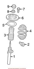 For BMW Genuine Coil Spring Front 31336787136