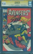 Avengers 59 CGC SS 9.4 Stan Lee 1st Yellow Jacket OW/W Ant Man Movie 1968