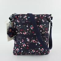 KIPLING KEIKO Shoulder Crossbody Bag Floral Gardenia