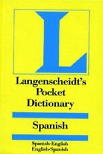 Langenscheidt's Pocket Spanish Dictionary: Spanish - English & English -...