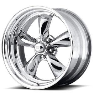 "American Racing VN505 Torq Thrust 2 17x9.5 5x4.5"" +28 Polished Wheel Rim 17 Inch"
