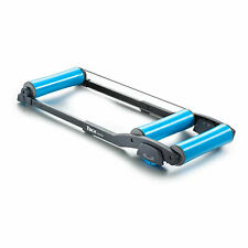 Garmin Tacx Galaxia Exercise Stationary Retractable Bike Trainer Roller, Blue