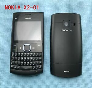 Nokia X Series X2-01 - black red (Unlocked) Cellular Phone