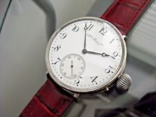 Vintage Hy Moser & Cie Watch Co 47 mm Porcelain Dial Wrist watch Swiss Made