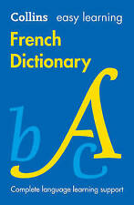 Easy Learning French Dictionary (Collins Easy Learning French), Collins Dictiona