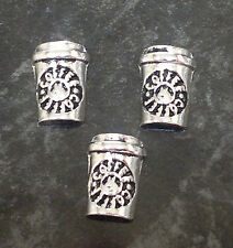 1 x Coffee Cup Floating Charm for Living Memory Locket - Drink (UK Seller)