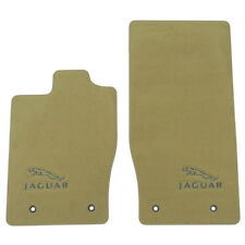 NEW JAGUAR XK OEM CARPET FLOOR MATS 2007-2014 C2P2441SEP CARAMEL