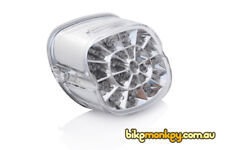 Harley Davidson Dyna Switchback FLD Integrated LED Tail Light in Clear Lens