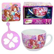 WINX Club-CAPPUCCINO TAZZA Bloom & accessorio in confezione regalo