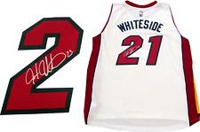 Hassan Whiteside Autographed Miami Heat Swingman Jersey