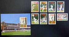 St VINCENT GRENADINES 1988 Cricket (8) & M/Sheet U/M NEW LOWER PRICE FP2898