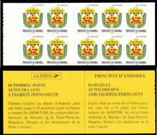 Andorra, French Administration Scott #491a VF MNH 1998 Arms of Ordino Booklet