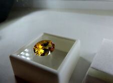 """Sweet 5.00ct Ural Mountain, Russian Citrine.""""SUPERIOR QUALITY"""" Cut by me :)"""