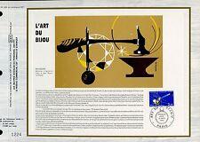 DOCUMENT CEF PREMIER JOUR 1983  TIMBRE N° 2286 L ART DU BIJOUX UNE BAGUE