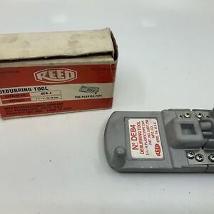 REED DEB-4 deburring tool for plastic pipe