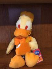 "Disney Sega Orange Donald Flavor of the Month Soft 12"" plush Nwt"