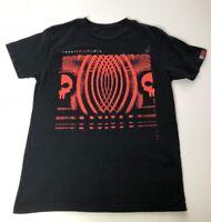 Twenty One Pilots Adult S/M Black Band Graphic T Shirt Crew Neck Short Sleeves