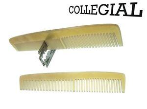 Dr.Dittmar Collegial Horn Comb for Men Light Horn Men's Comb Pocket Comb