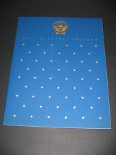 Ronald Reagan Inaugural Program 1981 George Bush Politics President FREE SHIP