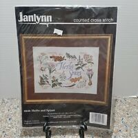 Janlynn New Counted Cross Stitch Herbs And Spices #09-69