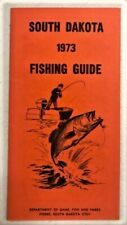 New listing Lot of 6 South Dakota Fishing Guides 1972, 73, 75, 83, 84, & 86