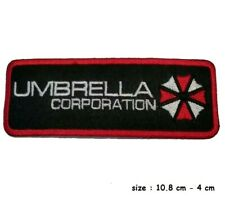 Umbrella Corporation Resident Evil Logo Iron on Embroidered Patch UK SELLER