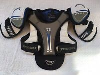 ITECH 455 TL ICE HOCKEY SHOULDER PADS & CHEST PROTECTOR - JR Medium