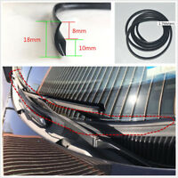 1.7m Rubber Sealing Strip Under Front Windscreen Wiper Plastic Panel Decorative