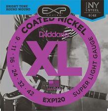 D'addario Exp120 Coated Guitarra Eléctrica Cuerdas 9-42